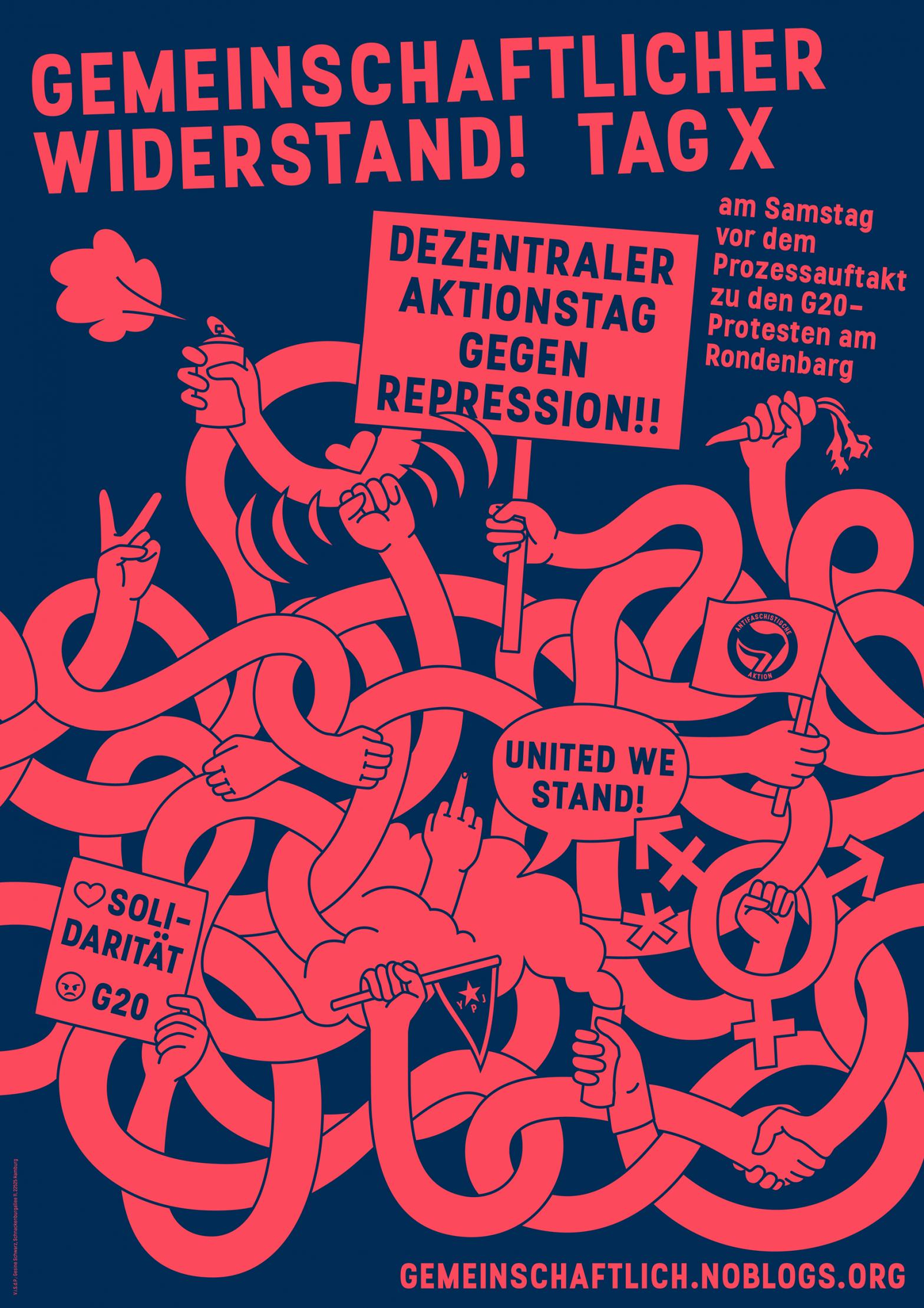 Gemeinschaftlicher Widerstand – Bundesweite Kampagne gegen Repression